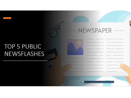 Top 5 Public Newsflashes - April 2020 - ORIC International