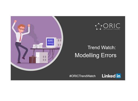 Trend Watch - Model risk