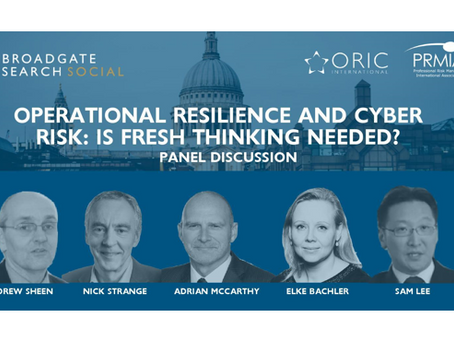 Operational Resilience and Cyber Event: Is Fresh Thinking Needed?