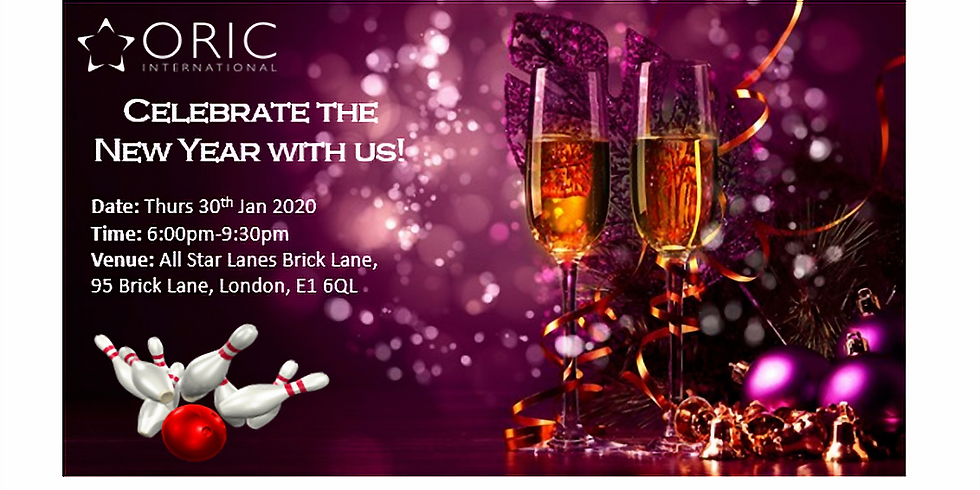 ORIC International New Year Party