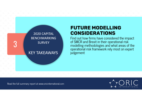 Future modelling considerations for operational risk