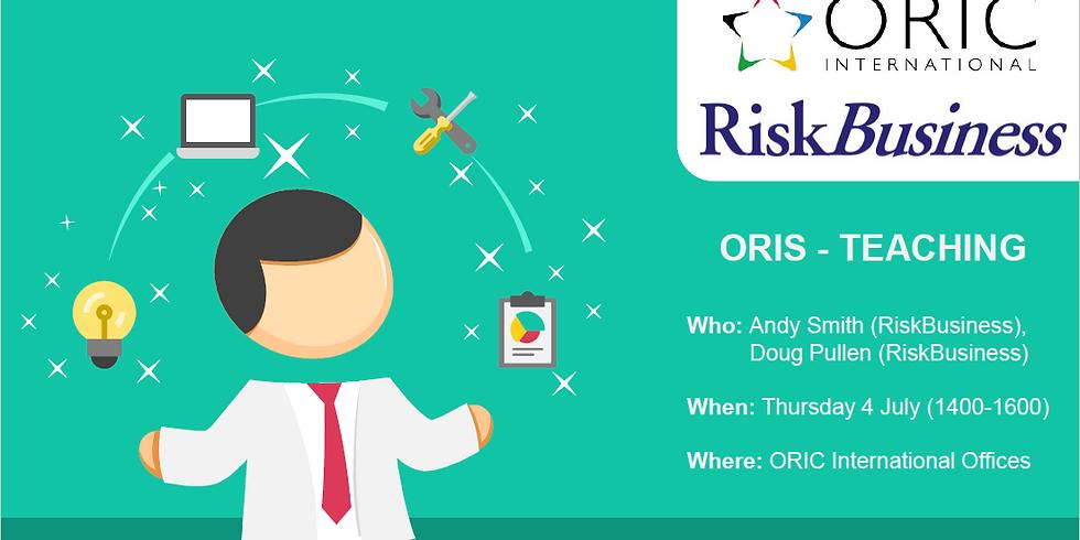 ORIS - RiskBusiness Teaching