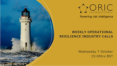 Operational Resilience Industry Calls Im