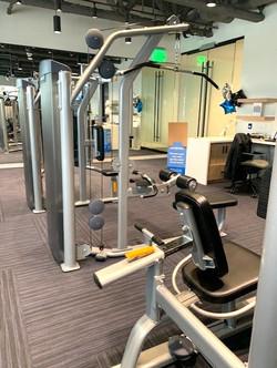 Strength training area