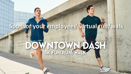 Employee Wellness Offering: Virtual Downtown Dash 5k