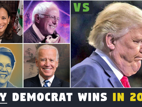 Why ANY Democrat Wins in 2020 - It's Just Math!