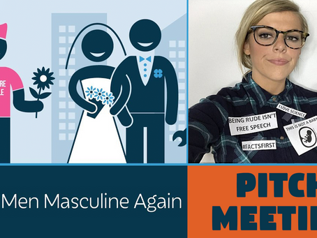 Make Men Masculine Again - Behind the Scenes at PragerU