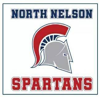 North Nelson Spartan Logo