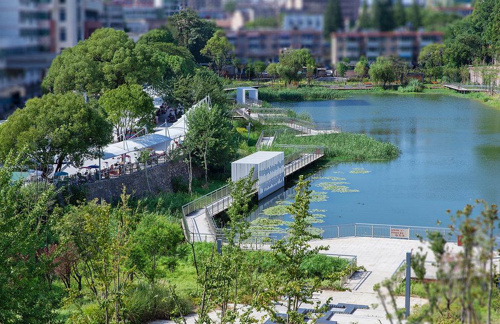 Chizhou City Moat Heritage Park