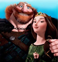 Король Ферґус і королева Елінор -