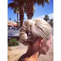 #HairUp #Updo #Wedding #Bridal #Hair #P
