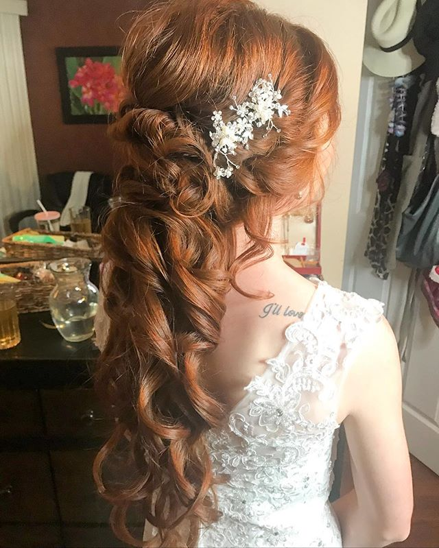 Jolynn's princess hair _#bride#hair#hair