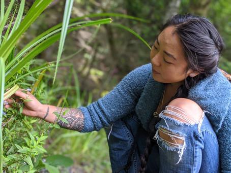 Foraging on Orcas Island with Shamanic Herbalist Tara Kim