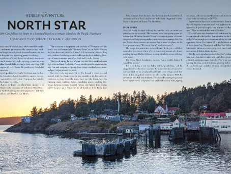 After a Wild Year One, Orcas Hotel Makes Splash in Edible Monterey Bay Magazine