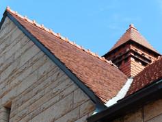 Glessner house roof 2014.JPG