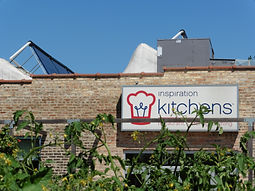 Inspiration Kitchens in Chicago, IL is an example of low-impact roofing at a historic building.