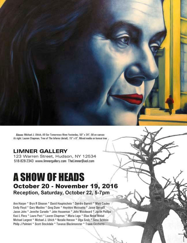 A Show of Heads- Gallery Opening