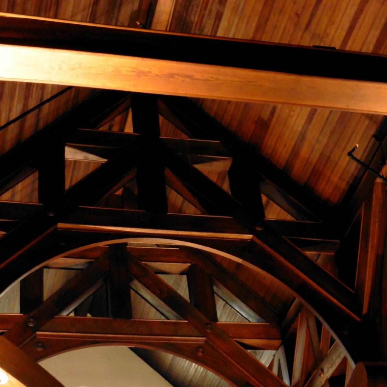 Obed & Isaac's Peoria interior ceiling 0317