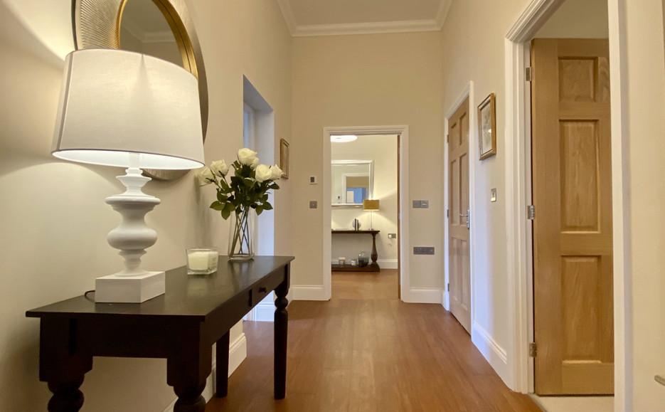 Typical Apartment Interior - Hallway
