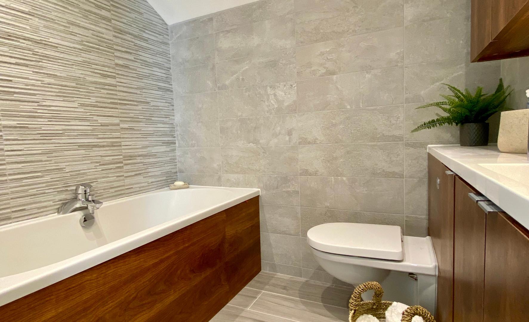 Typical Apartment Interior - Bathroom