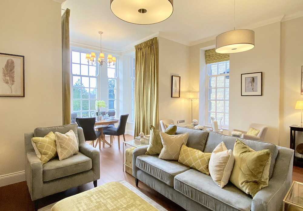 Typical Interior of 2 Bed Period Apartment Scalesceugh Hall
