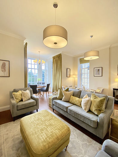 Scalesceugh Hall Apartment 1 Living Area