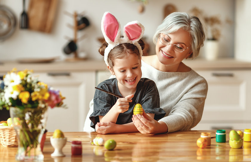 Grandmother and grandchild at Easter.jpg