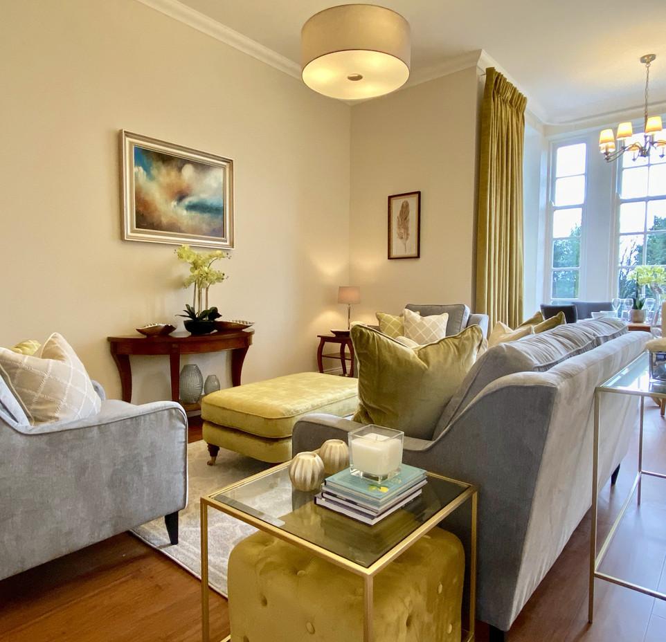 Typical Apartment Interior - Living Area