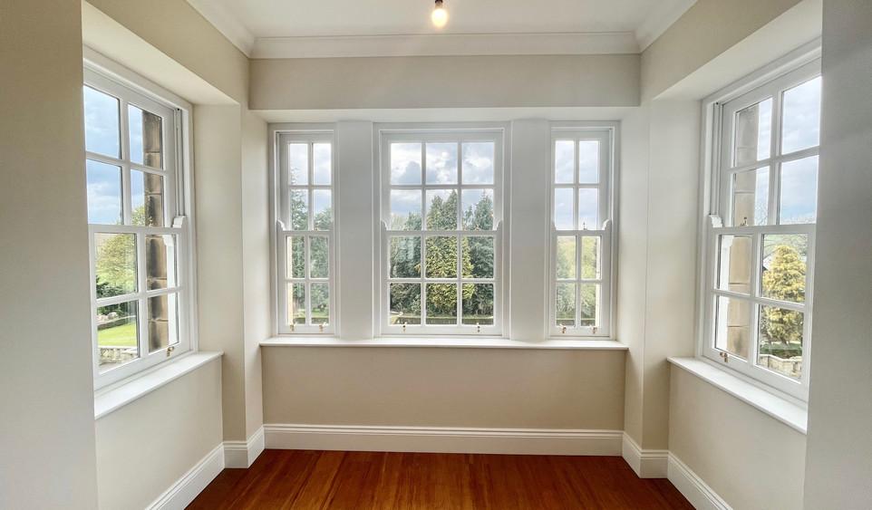 Apartment 6 - Living Area Bay Window
