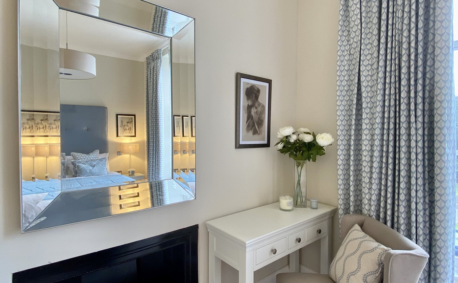 Typical Apartment Interior - Master Bedroom