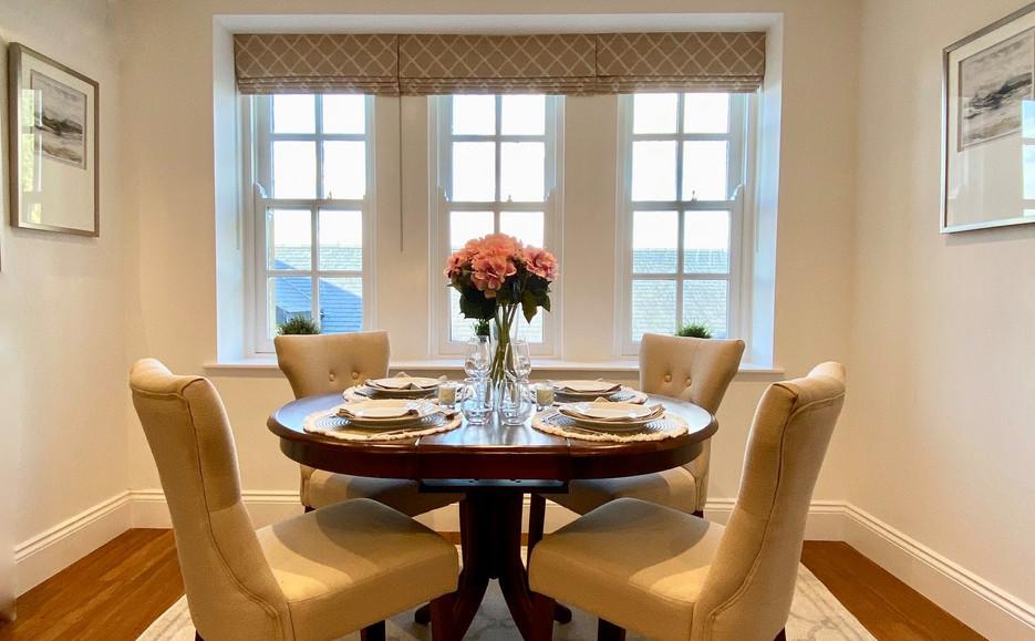Typical Apartment Interior - Dining Area