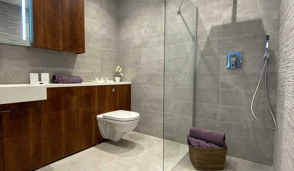 Typical Apartment Shower Room at Scalesceugh Hall