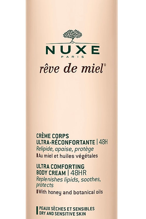Nuxe Reve de Miel ultra comforting body cream 400 ml