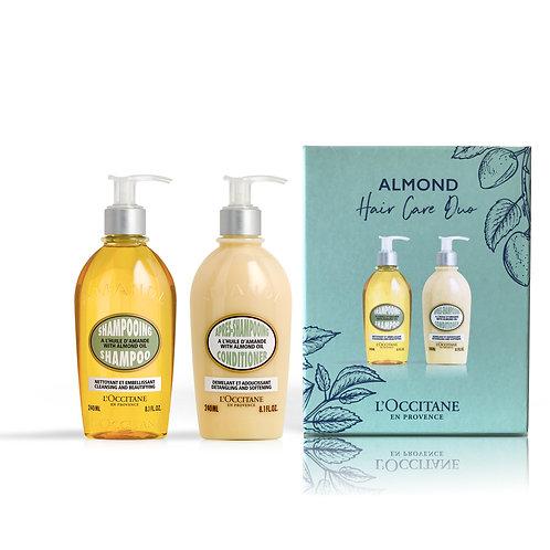 Loccitane Almond Hair care duo