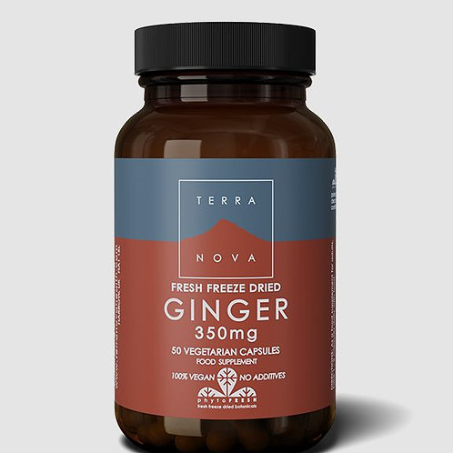 Terra Nova Ginger 50 caps
