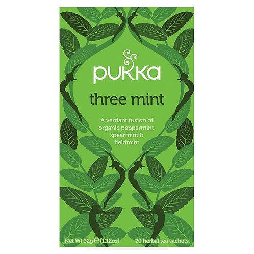 Pukka Three Mint 20 teabags