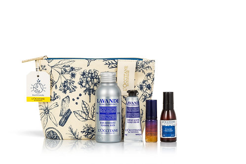 Loccitane Rest and Reset Collection