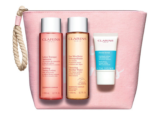 Clarins Cleansing bag for normal  skin