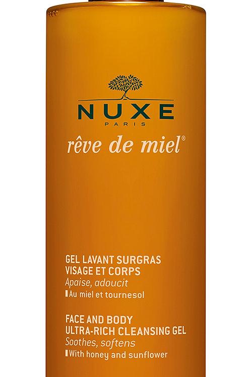 Nuxe Reve de Miel cleansing gel 400 ml