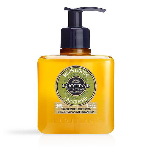 Loccitane Shea Verbena Hands & Body Liquid Soap 300ml