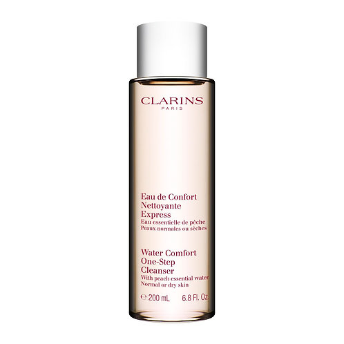 Clarins Water comfort one step cleanser with peach normal to dry 200 ml