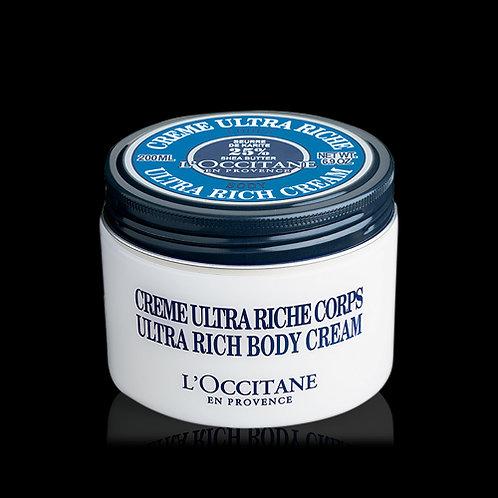 Loccitane Ultra Rich body cream 100g