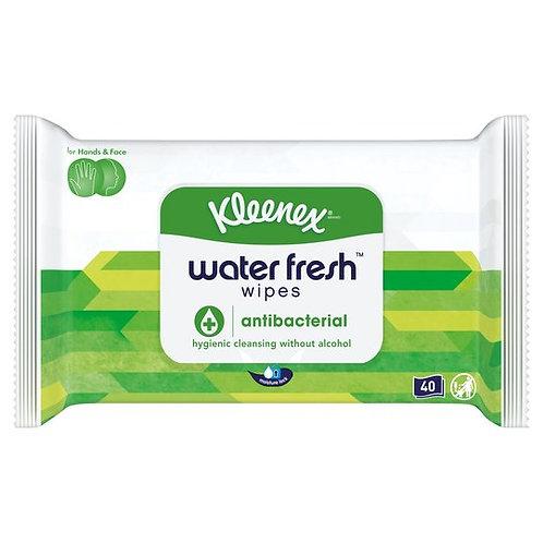 Kleenex antibacterial wipes - alcohol free (12 wipes)