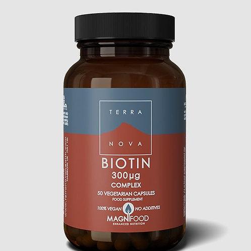 Terra Nova Biotin 300 mg 50 caps