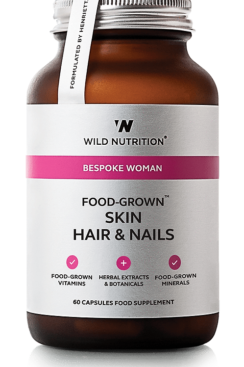 Wild Nutrition Skin, hair & nails 60 caps