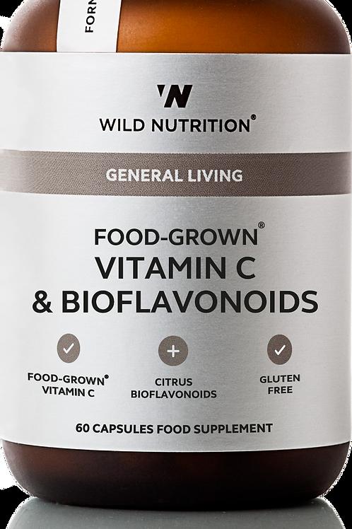 Wild Nutrition Vitamin C & bioflavonoids 60 caps