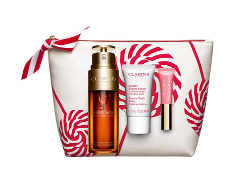 Clarins Xmas  Double serum collection