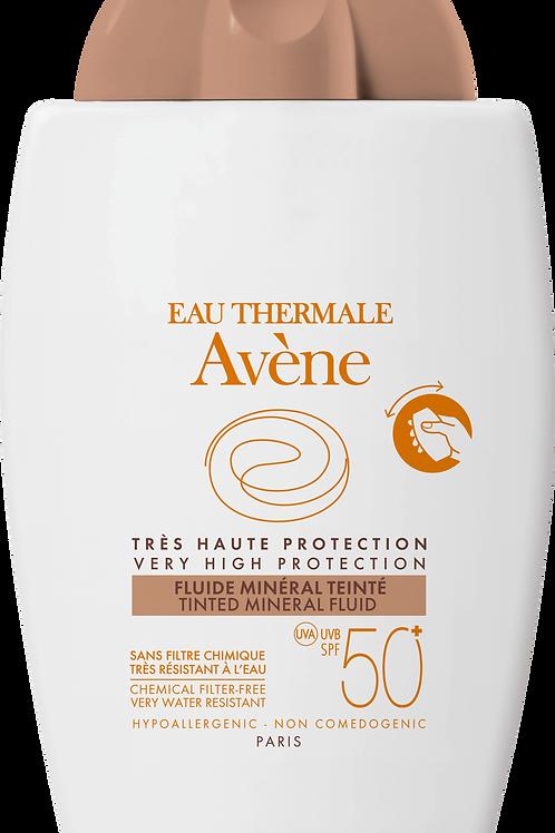 Avene Tinted Mineral Fluid spf50+ 40 ml