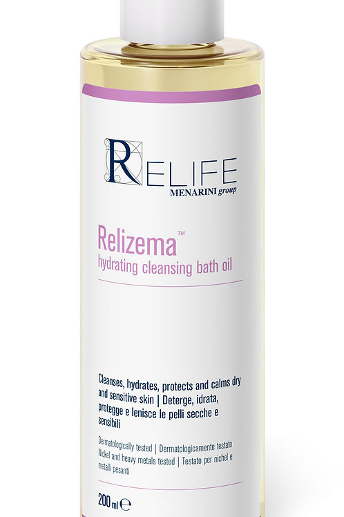 Relizema hydradting cleansing bath oil 200mls