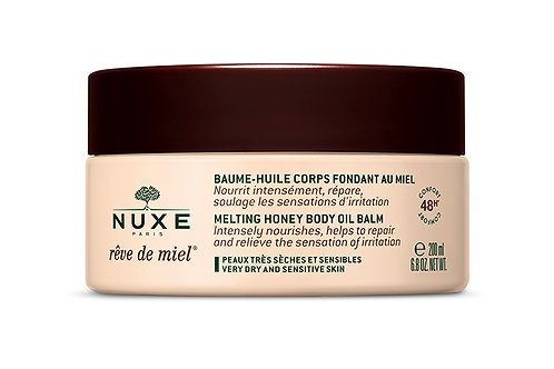Nuxe Reve de Miel melting honey body oil balm 200 ml